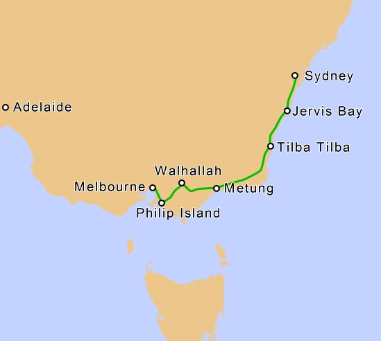 8 Day Sydney to Melbourne Self-Drive Tour